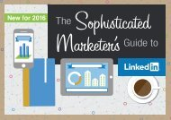 Sophisticated Marketer's