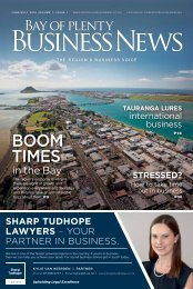 Bay of Plenty Business News June/July 2016