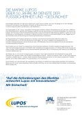 Auf die Anforderungen des Marktes antwortet Lupos mit Innovationen - Seite 2