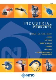 Nitto Industrial Products Catalogue