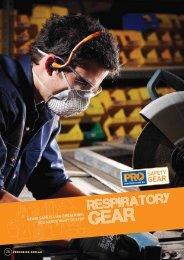 ProChoice Respiratory Gear Catalogue