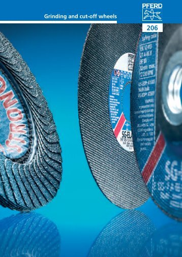 Pferd Grinding and Cut-off Wheels Catalogue