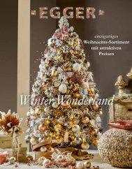Weihnachts-Prospekt - Winter Wonderland
