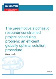 project scheduling problem an efficient globally optimal solution procedure