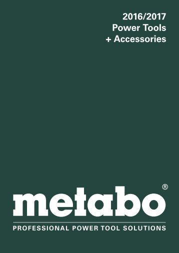 Metabo Catalogue