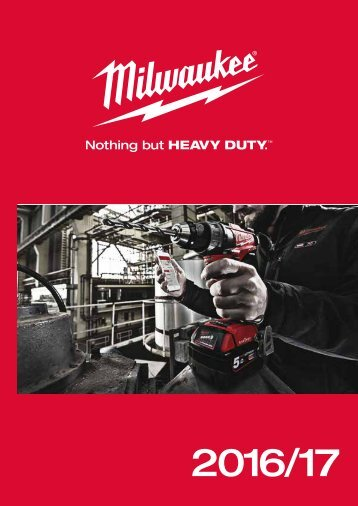 Milwaukee Handtool and Accessory Catalogue