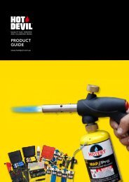 Hot Devil Product Catalogue