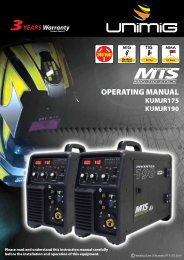 KUMJR190 Operating Manual