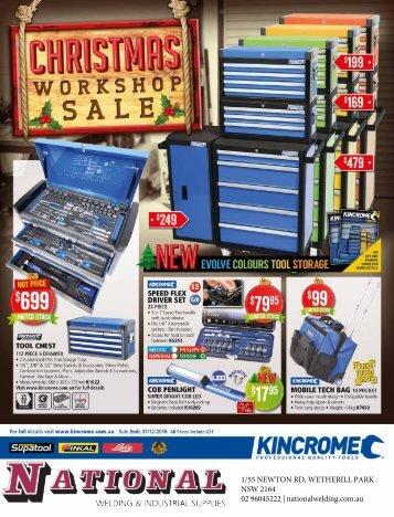 Kincrome Christmas Sale 2016