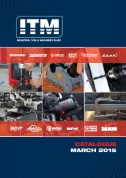 Industrial Tool and Machinery Catalogue
