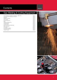 Lincoln Electric Gas Welding and Cutting Catalogue