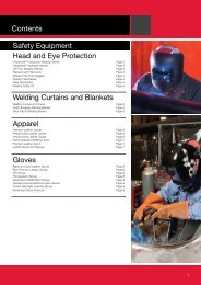 Lincoln Electric Safety Equipment Catalogue