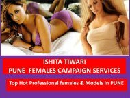 PUNE HOT DATING ESCORTS MODELS