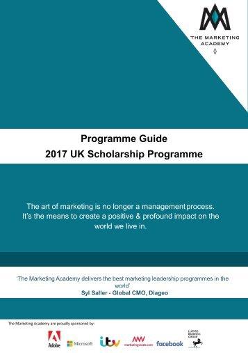 2017 UK Scholarship Programme