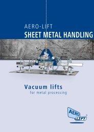 AERO-LIFT Sheetmetal handling