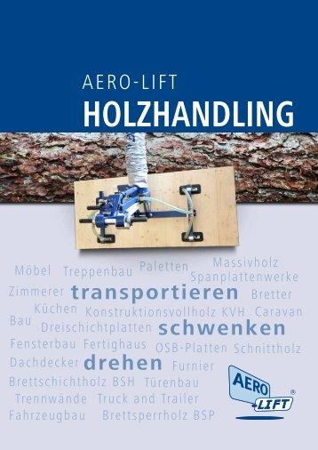 AERO-LIFT Vakuumheber Holzhandling