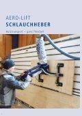 AERO-LIFT Vakuumheber Holzhandling - Seite 2