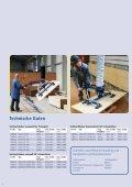 AERO-LIFT Vakuumheber Holzhandling - Seite 4