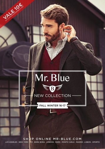 Mr. Blue New Collection - Fall Winter 16-17
