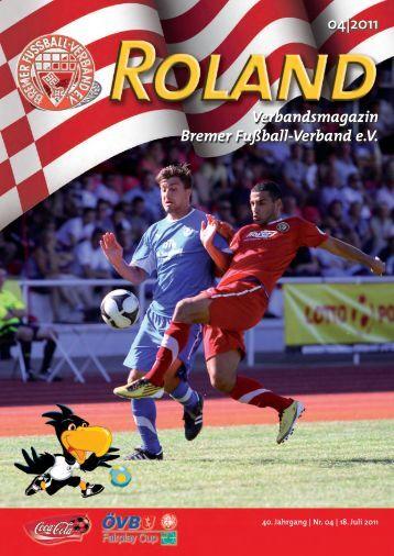 04|2011 Verbandsmagazin Bremer Fußball-Verband e.V.