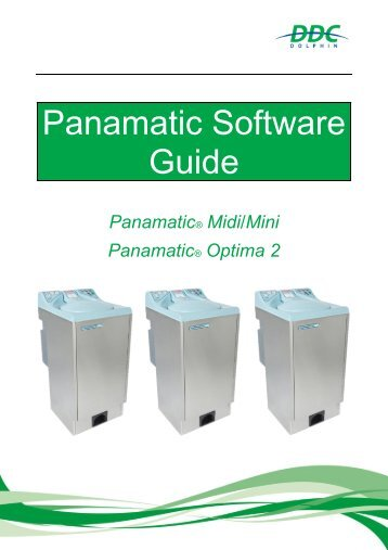 Software Guide Panamatic Mini Midi Optima 2 V1