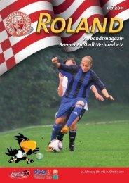 06|2011 Verbandsmagazin Bremer Fußball-Verband e.V.
