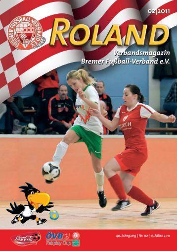 02|2011 Verbandsmagazin Bremer Fußball-Verband e.V.