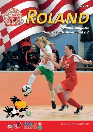 02 2011 Verbandsmagazin Bremer Fußball-Verband e.V.