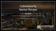 Cybersecurity Market Review
