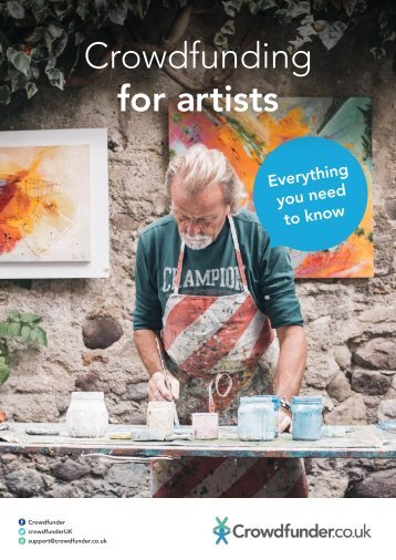 Crowdfunding for artists