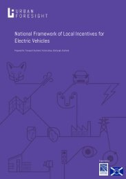 National Framework of Local Incentives for Electric Vehicles