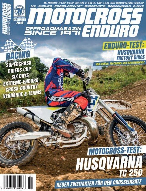 Motocross Enduro Ausgabe 12/2016