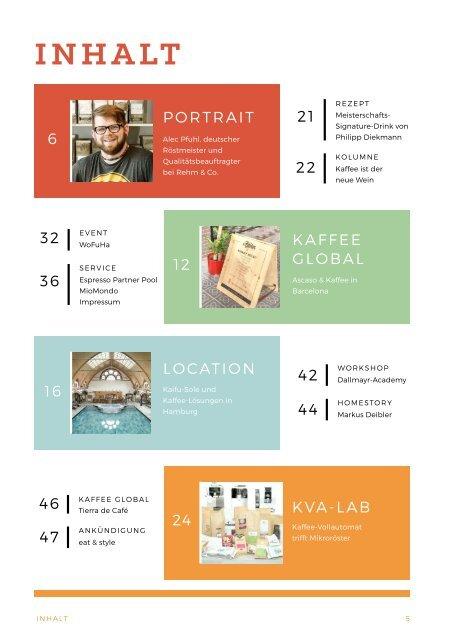 Kaffee Globus - Ausgabe 1