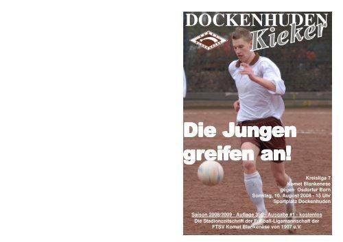 Saison 08/09 Unser Team - Saison 08/09 - Komet Blankenese