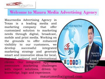 X-Frame Banner Service in Houston Mauru Media Advertising Agency