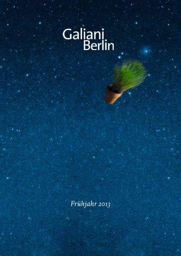 Hannes Stein - Galiani Verlag Berlin