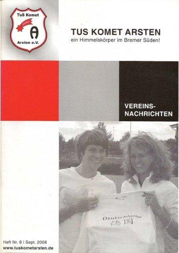 Arster Heerstr. 42 · 28279 Bremen Fon 0421 87 ... - TuS Komet Arsten
