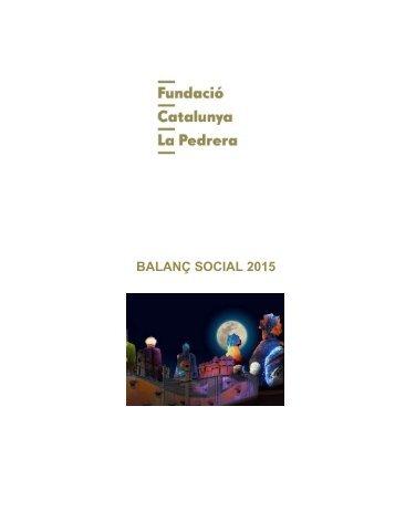 BALANÇ SOCIAL 2015
