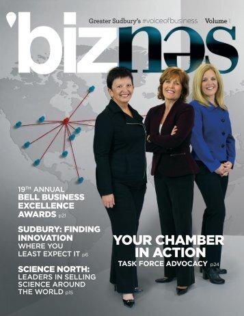 'biznes Volume 1 - Greater Sudbury's #voiceofbusiness