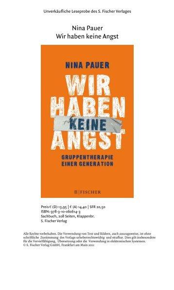 Prolog - S. Fischer Verlag