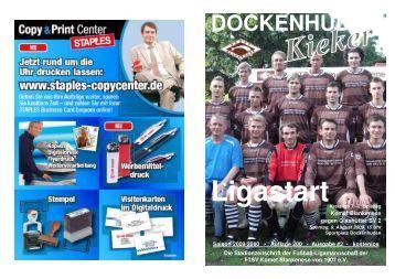 Liga und Reserve 2009/2010 - Komet Blankenese