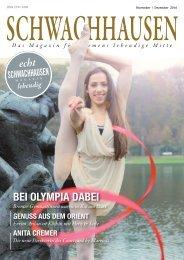SCHWACHHAUSEN Magazin |November-Dezember 2016