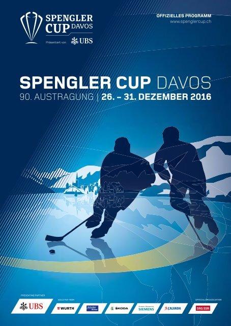 SPENGLER CUP - Programm 2016