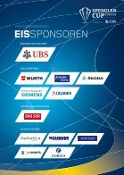 SPENGLER CUP PROGRAMM 2016 - Page 6