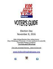 Election Day November 8 2016