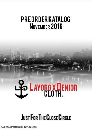PreOrder Katalog November II