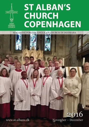 ST ALBAN'S CHURCH COPENHAGEN