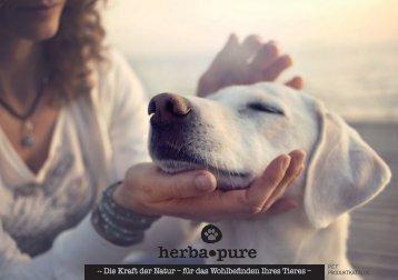 herbapure Naturprodukte und Tinkturen für Ihr Tier
