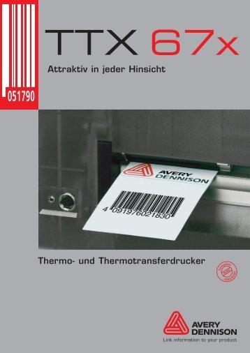 Thermo- und Thermotransferdrucker Attraktiv in jeder Hinsicht