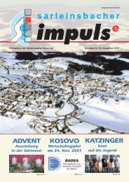 Impulse Nr. 25, November 2007